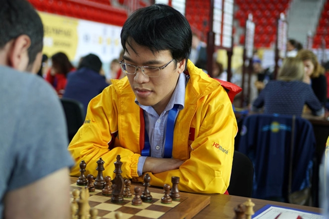 Liêm ranks fifth at Asian Continental Chess Championships