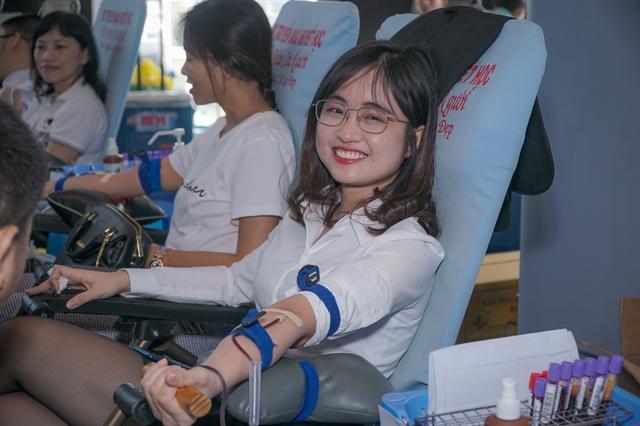 AmCham Vietnam organises blood donation campaign