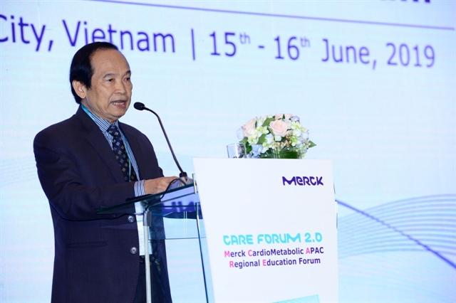 Việt Nam hosts regional cardio-metabolic education forum