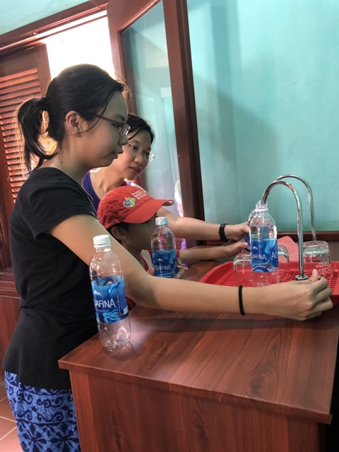 Hội An installs drinking water taps
