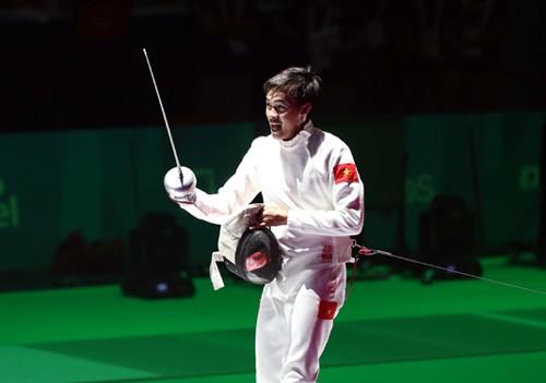 Fencer Nhật winsAsian championship bronze