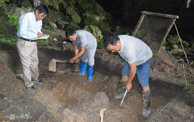 Archaeologists unearth site from 9000 years ago