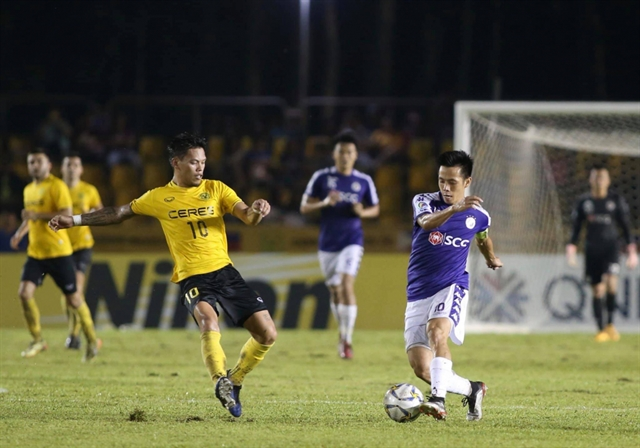Hà Nội drawwith Ceres Negros in AFC Cups ASEAN zonal semi-finals