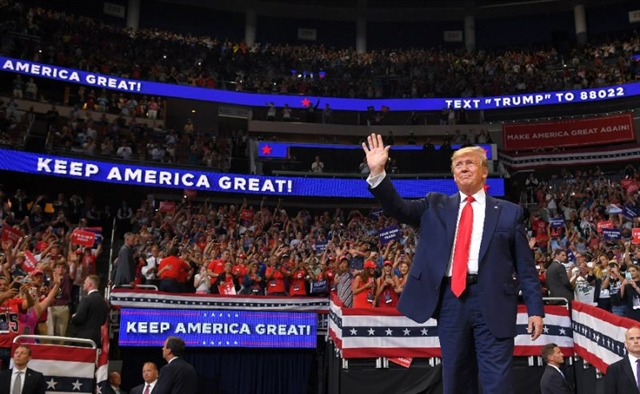 Trump launches 2020 reelection campaign calling US envy of the world