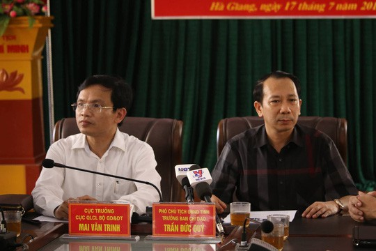 Hà Giang disciplines officials in exam cheating scandal