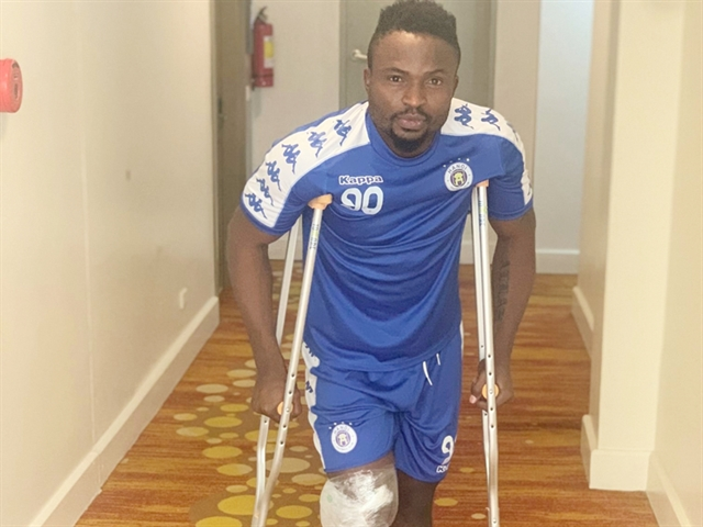 Injured Oseni may miss AFC Cup match