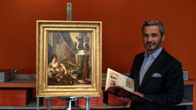 Lost version of Delacroix masterpiece discovered in Paris