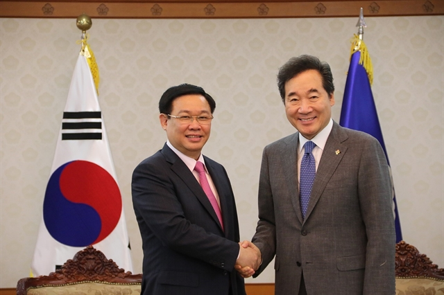 Việt Nam RoK agree to 100b trade goal by 2020