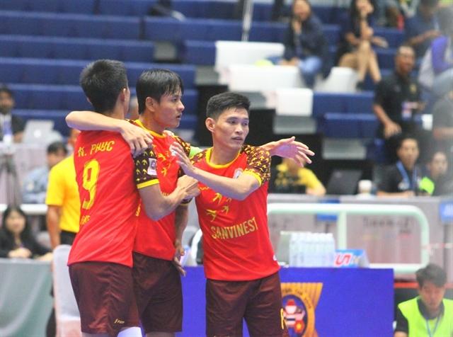 SS Khánh Hoà bring home AFF Futsal Cup silver