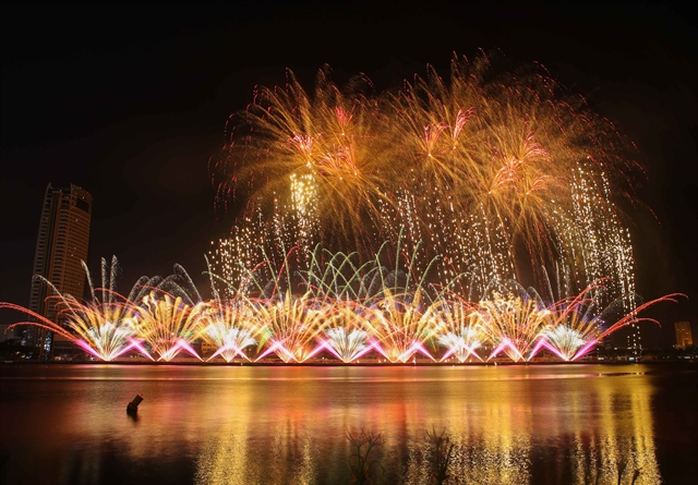 England and Finland to display in final of Đà Nẵng fireworks fest