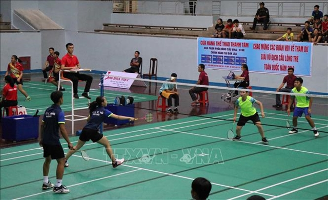 National Youth Badminton Champs start in Đà Nẵng