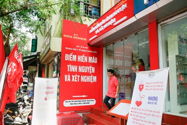 First fixed blood donation site opens in Hà Nộis Old Quarter