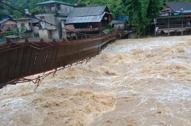 Four missing after heavy rain and floods hit northern mountainous provinces