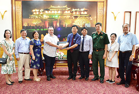 Norway helps Thua Thien-Hue in bomb mine clearance