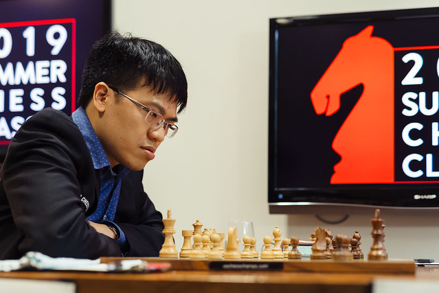 Liêm has first win at Summer Chess Classic