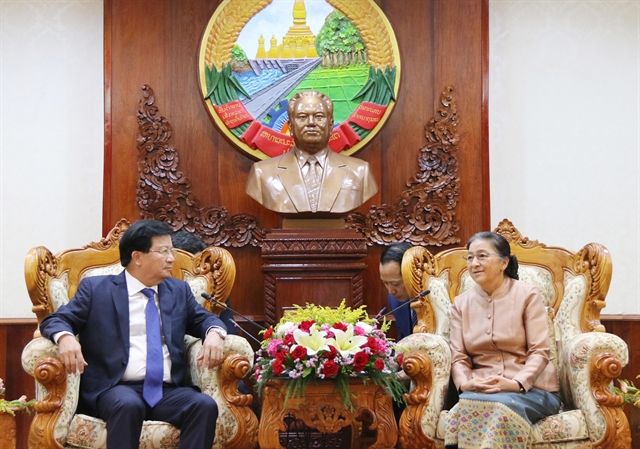 Deputy PM meets Lao Prime Minister NA Chairwoman