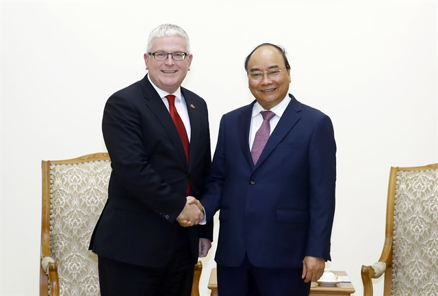 PM lauds Australian ambassadors contributions to Việt Nam