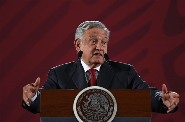 Mexico will not detain migrants at US border: president