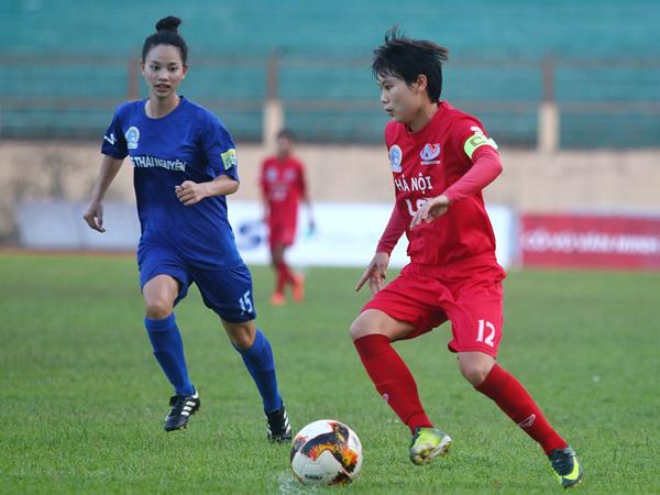 Hà Nội beat Thái Nguyên in national womens football champs