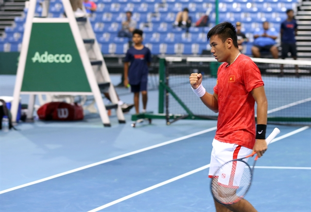 VN beat Sri Lanka in Davis Cup