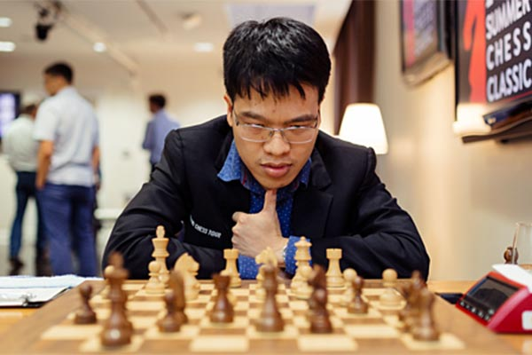 Liêm leads at Summer Chess Classic