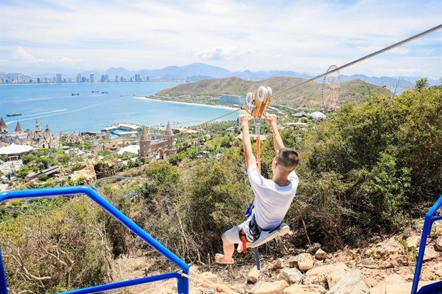 VNs longest zipline inaugurated at amusement park