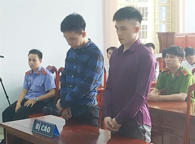 Two robbers are jailed for theft at Dầu Giây toll booth