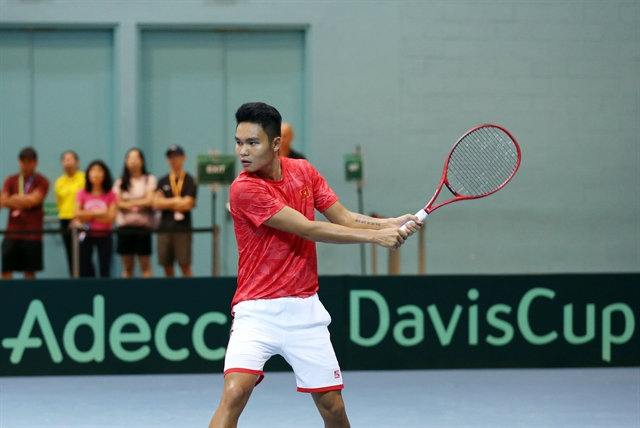 Việt Nam beat Singapore in Davis Cup