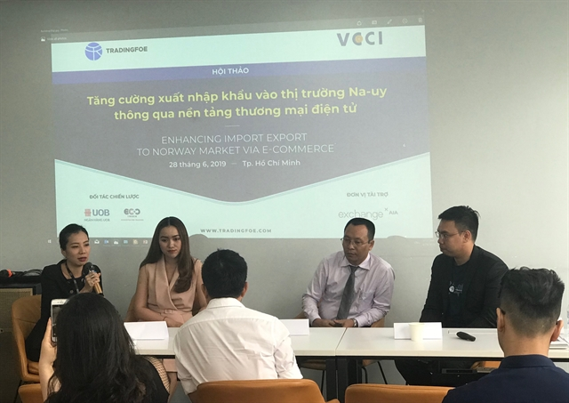 VN businesses urged to trade via online platforms with Norway
