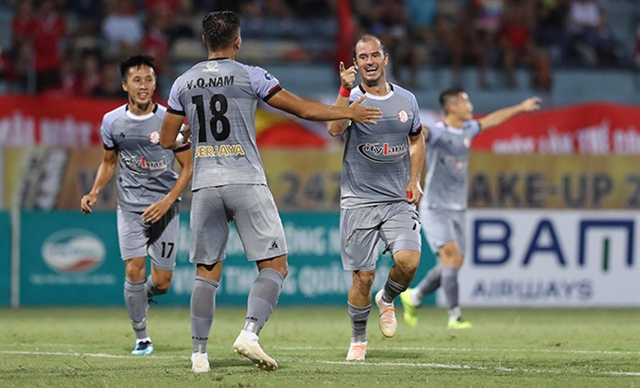HCM City FC knock Viettel out of National Cup