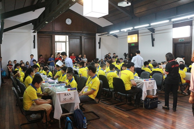 Chess masters compete at Hà Nội Open