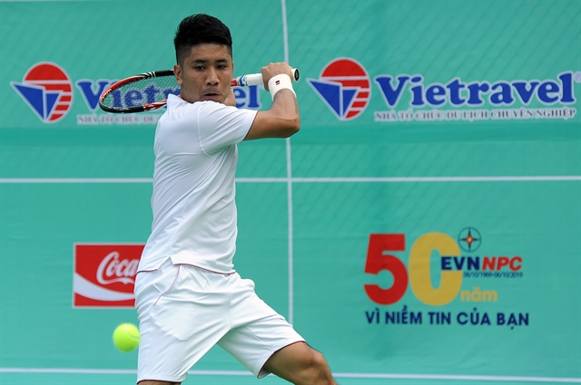 Vũ Thanh Tùng wins opening match at Masters 500 event