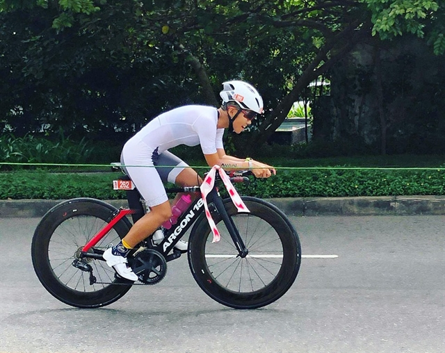 Ngân to compete at the Ironman 70.3 World Championship