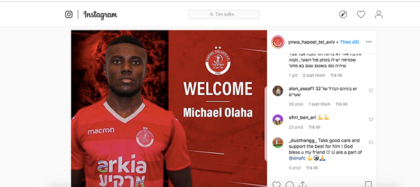 Olaha to leave Sông Lam Nghệ An at end of season