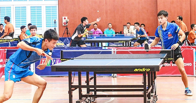 International table tennis cup comes to Vĩnh Long