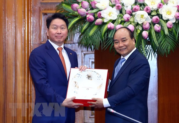 VN welcomes SK Groups investment: PM