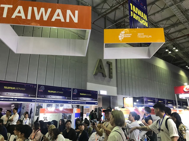 International exhibitions on telecom film-TV begin in HCM City