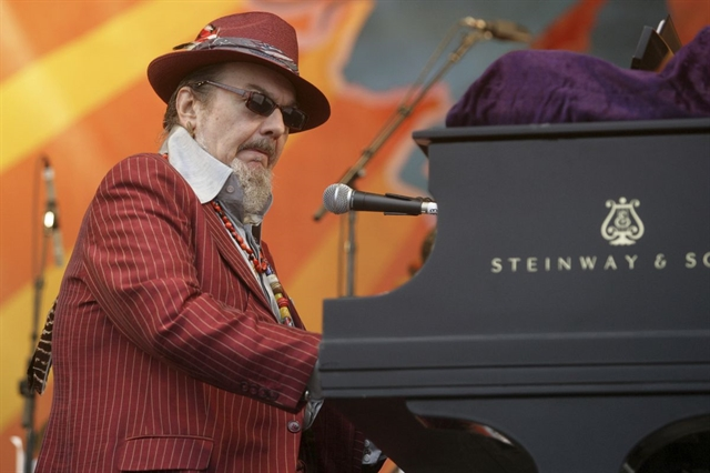 Legendary New Orleans blues pianist Dr. John dies at 77