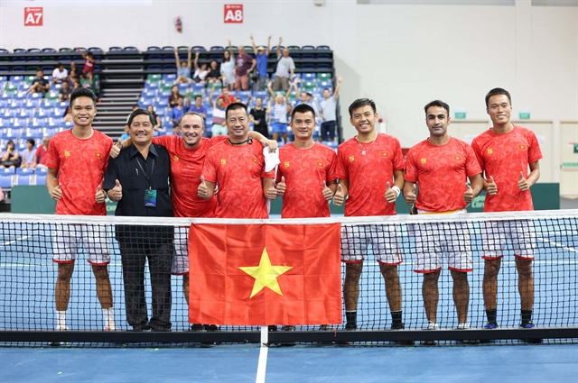 Việt Nam win Davis Cup Group III