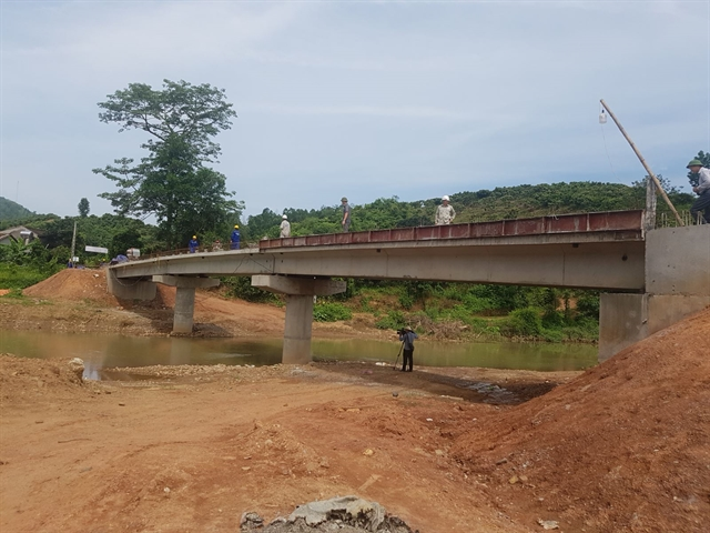 More bridges built across the country