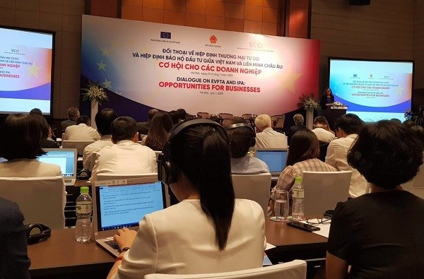 Local firms need to improve capacity when joining EVFTA