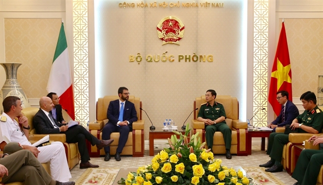 Việt Nam Italy convene third defence policy dialogue