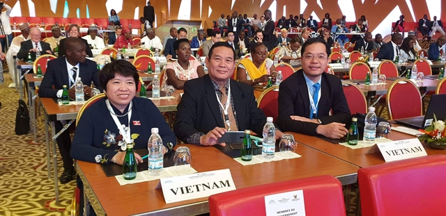 Việt Nam Chairwoman elected APF Vice President