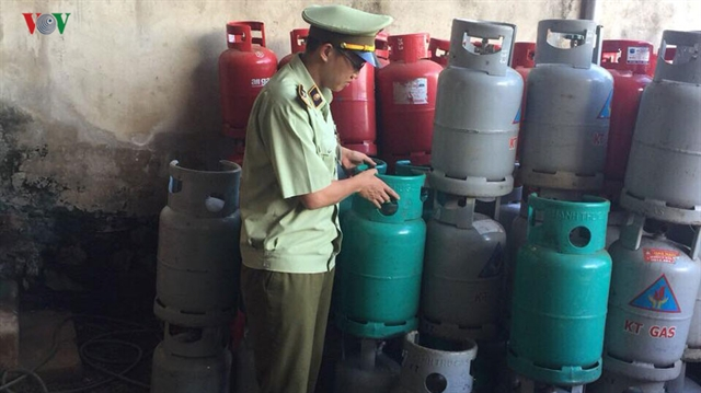 More than 1900 gas cylinders seized in Đắk Lắk