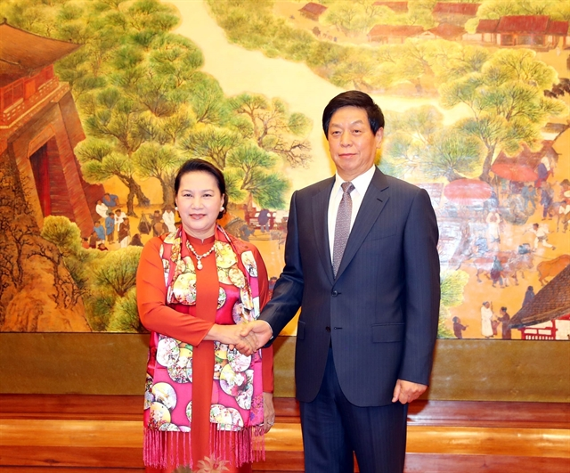 Việt Nam cherishes relations with China: NA Chairwoman