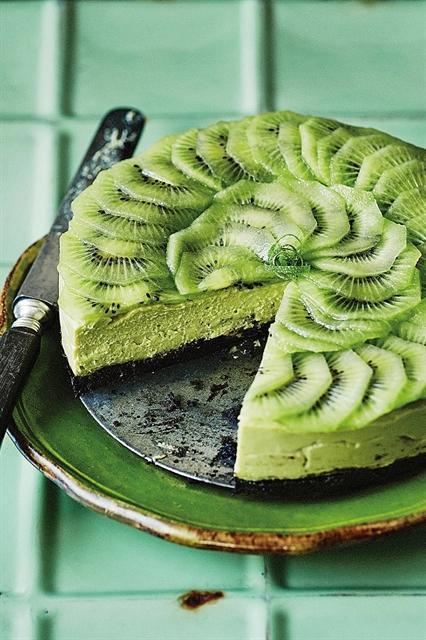 Vegan Lemon and Avocado Cheesecake