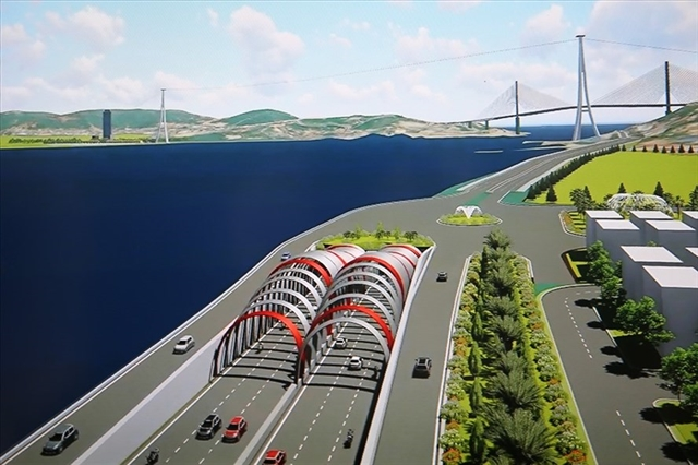 Quảng Ninh plans for savings to build undersea tunnel