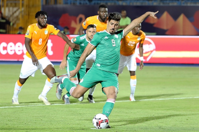 Algeria beat Ivory Coast on penalties to reach semi-finals