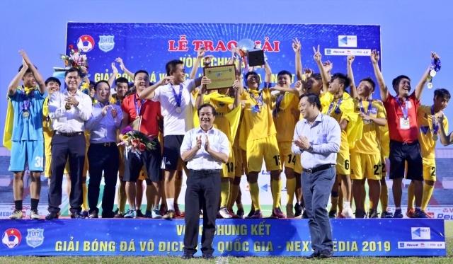 Thanh Hóa crown National U17 Championship