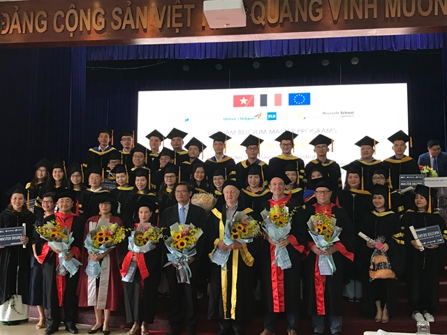 Vietnam-Belgium Programme churns out skilled postgraduates